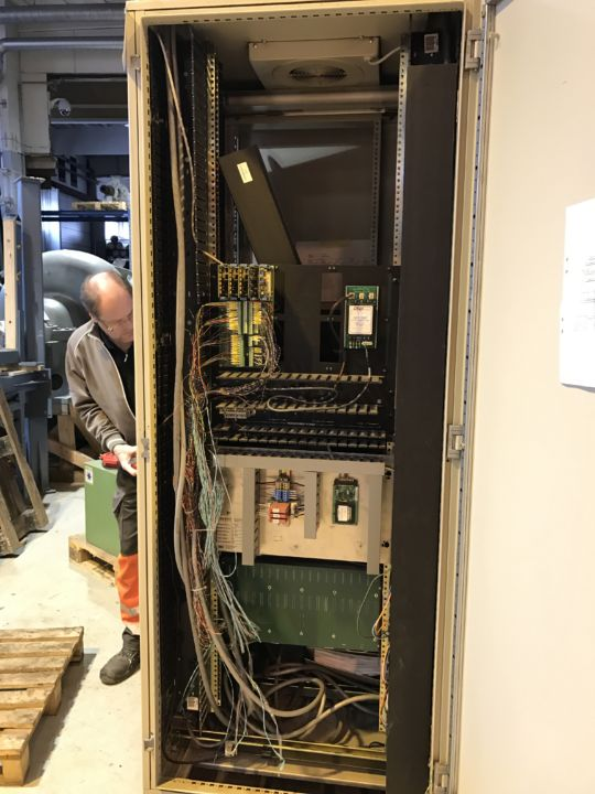 Honeywell Measurex Qcs Beam Iso Therm Scanner Model 2100