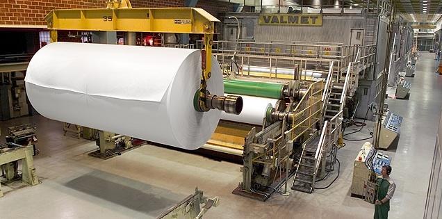 Paper Machine Liner Fluting 5160mm 150 000 Tpy Valmet