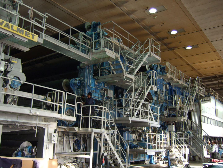 Valmet Paper Machine 7270mm 250 000 Tpy Varaoke
