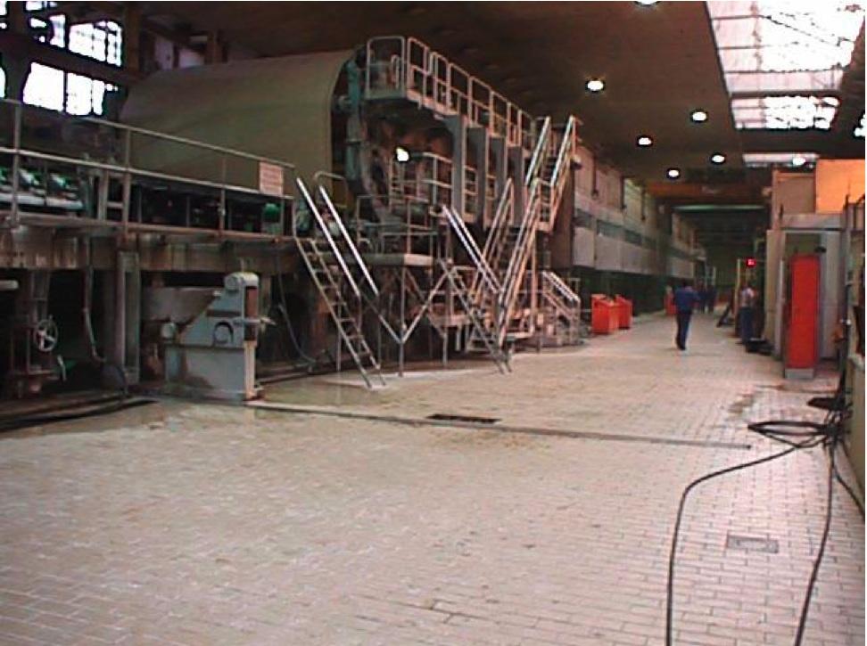 Paper Machine Beloit Walmsley 4400mm 48 70gsm And On Line