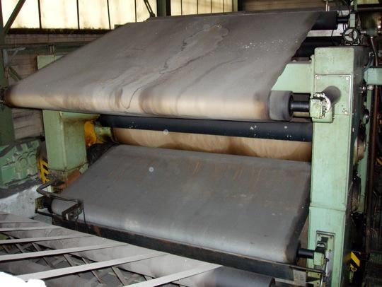 Wet Lap Machine Andritz 2400mm Varaoke International Oy