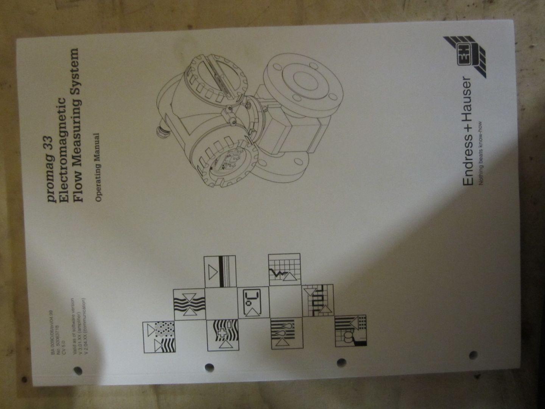 Endress hauser promag 33 manual