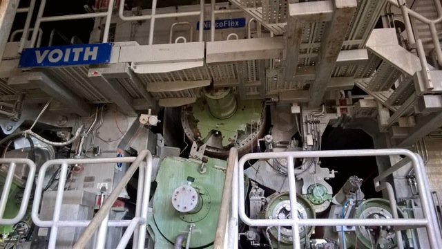 Voith Paper Machine 4120mm 1200m Min Varaoke