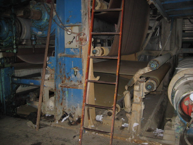 Paper Machine 3050 Mm 38 Tons Day Production For 50 Grs